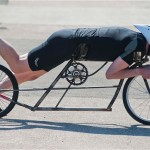 Graeme Obree plans to break the land speed record for pedal power on a home-made bicycle that he is building f