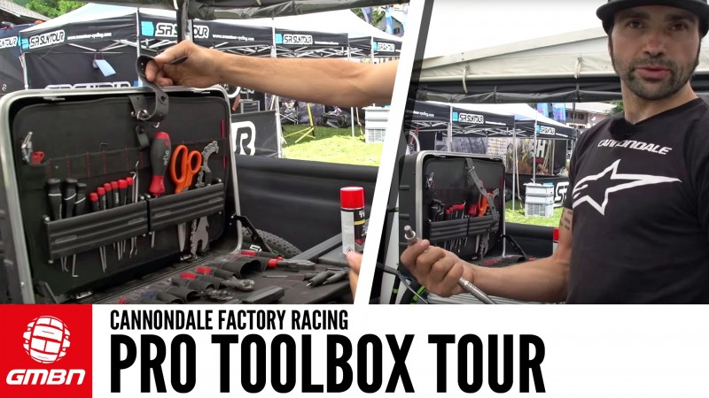 Pro Mechanic Toolbox Tour: Giacomo Angeli Of Cannodale Factory Racing