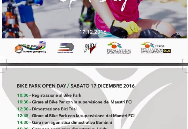 Open Day Bike Park al Salaria Sport Village! Ci siamo!