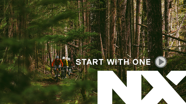SRAM NX, START WITH ONE
