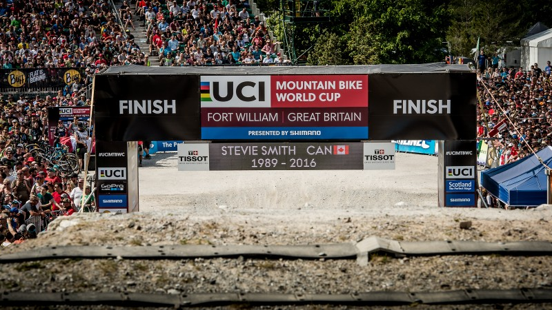 Steve Peat's speech at his last ever Fort William World Cup – and Steve Smith Tribute