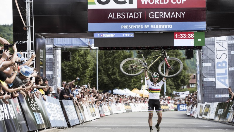 UCI MTB World Cup: Schurter on top in Germany. Reigning Olympic champion confirms good form in Albstadt.