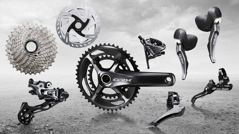 Introducing GRX gravel components by SHIMANO
