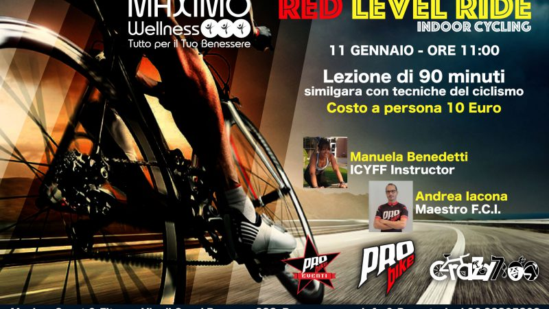 Pro Bike RED LEVEL RIDE! Sabato 11.01.2020…